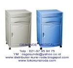 Bedside Cabinet ABS (Lemari Rak Pasien)