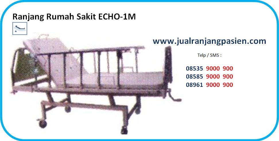 Tempat Tidur Pasien ECHO-1M www.jualranjangpasien.com