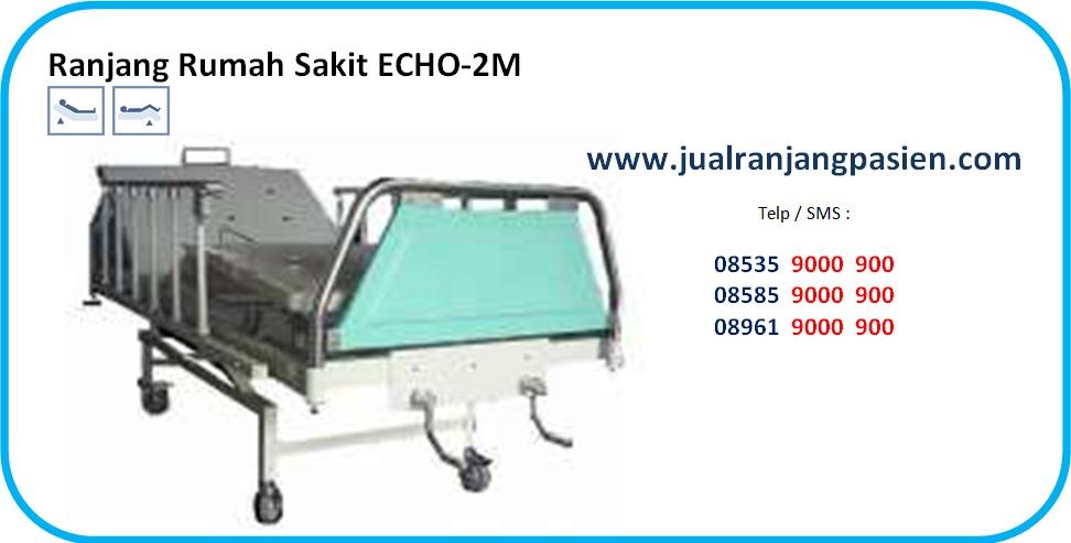 Tempat Tidur Pasien ECHO-2M www.jualranjangpasien.com