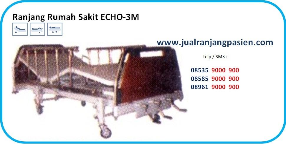 jual ranjang pasien ECHO-3M