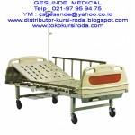 Ranjang Rumah Sakit ABS 1 Crank