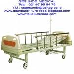 Ranjang Rumah Sakit 2 Crank ABS