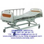 Tempat Tidur Rumah Sakit 3 Crank ABS