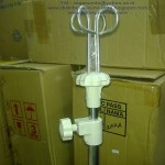 tiang infus stand ranjang elektrik