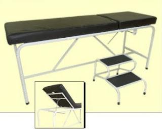 Meja Periksa Untuk Pasien Standar